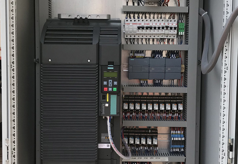 Eletrical panel with inverter 110kw